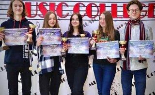 Музыканты из Каменского - победители Всеукраинского фестиваля - ФОТО