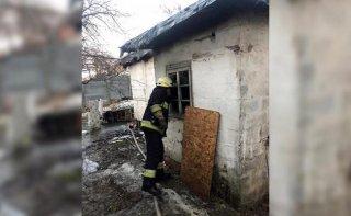 В Днепре обгорел мужчина - ФОТО