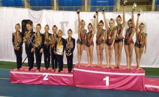 Кам'янські гімнастки стали чемпіонками України - ФОТО