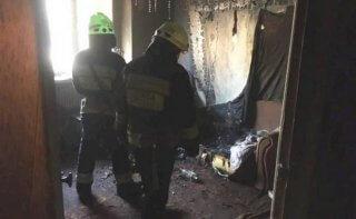 В Днепре в сгоревшей квартире нашли обугленный труп мужчины - ФОТО