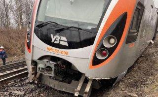 По факту аварии скоростного поезда полиция открыла уголовное производство - ФОТО