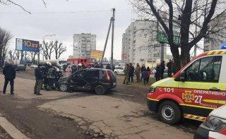 На Днепропетровщине ДТП с пострадавшим - ФОТО