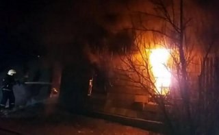 Масштабный пожар на Днепропетровщине: три человека погибли - ФОТО