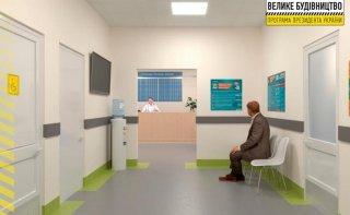В двух больницах Каменского обустраивают современные приемные отделения - ФОТО