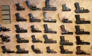 На Днепропетровщине задержали преступную группу, которая занималась сбытом огнестрельного оружия - ФОТО
