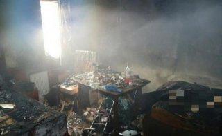 В Днепре произошел смертельный пожар - ФОТО