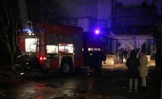 В Днепре в многоэтажке произошел пожар: жиль эвакуировали (видео) - ФОТО