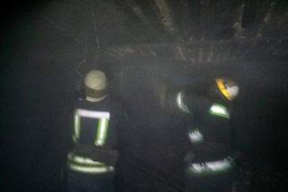 На Днепропетровщине загорелась летняя кухня (фото) - ФОТО