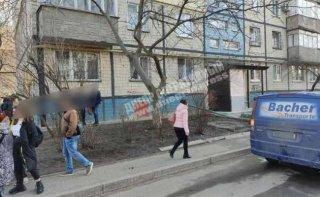 В Днепре микроавтобус сбил женщину - ФОТО
