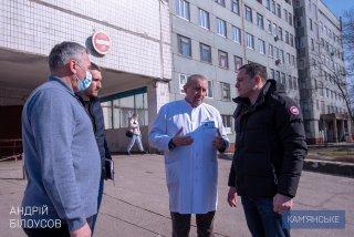 В Каменском планируют провести реконструкцию двух крупных больниц с благоустройством и утеплением - ФОТО
