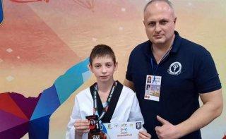 Каменские тхеквондисты привезли из столицы четыре медали - ФОТО