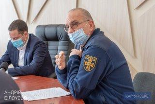 В Каменском стартовала контрольная проверка деятельности аварийно-спасательных служб - ФОТО
