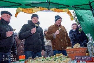 В Южном районе Каменского отметили Масленицу - ФОТО