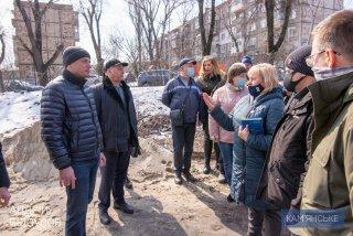 В Каменском продолжается реконструкция коллегиума №16 и гимназии №11 - ФОТО