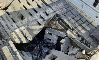 В Днепре неизвестные сломали фонтан - ФОТО
