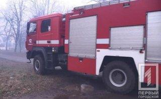 На Днепропетровщине горел частный дом, пострадала женщина - ФОТО
