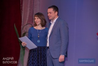 Женщины Каменского принимали поздравления - ФОТО