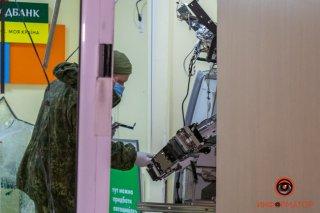 В Днепре взорвали отделение «Ощадбанка» (фото) - ФОТО