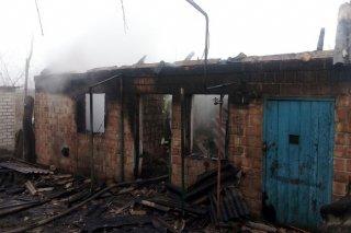 Смертельный пожар на Днепропетровщине: погиб мужчина - ФОТО