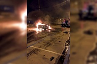 Жесткое ДТП в Днепре: BMW от удара с Mazda - ФОТО