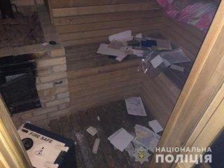 В Днепре ограбили коттедж (видео) - ФОТО