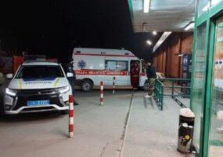 Под Днепром женщина «громила» супермаркет - ФОТО