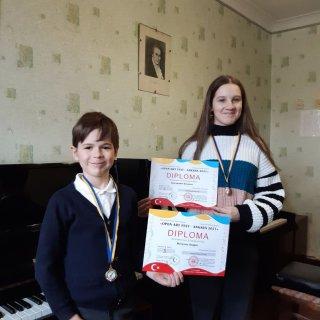 Ученики каменской Художественной школы №3 - призеры международного конкурса - ФОТО