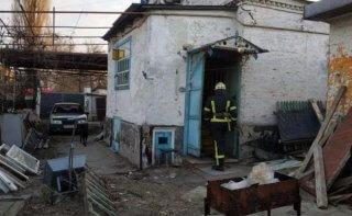 В Днепре загорелся частный дом: погиб хозяин - ФОТО
