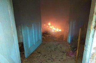 На Днепропетровщине загорелась летняя кухня - ФОТО