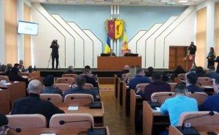 В Каменском завершилась сессия горсовета - ФОТО
