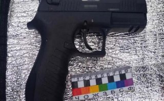 На Днепропетровщине полицейские задержали мужчину с оружием - ФОТО