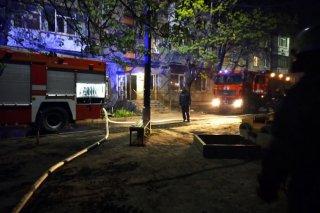 Масштабный пожар на Днепропетровщине: го - ФОТО