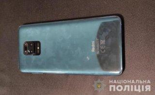 На Днепропетровщине подросток украл у мужчины телефон - ФОТО