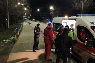 На Днепропетровщине девушка спрыгнула с моста (видео) - ФОТО