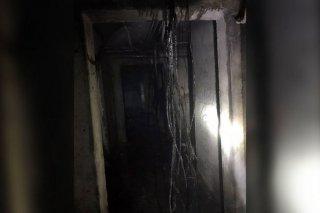 В Каменском загорелся подвал десятиэтажки - ФОТО