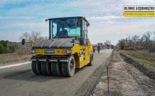 Продолжается ремонт участка дороги Каменское-Шульговка - ФОТО