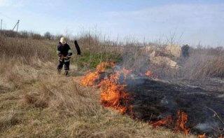 Под Каменским произошло 4 пожара - ФОТО