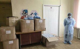 Каменской Центр первичной медико-санитарной помощи №1 получил средства индивидуальной защиты - ФОТО