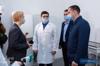 В Каменском создали вторую базу для лечения пациентов с Covid-19 - ФОТО
