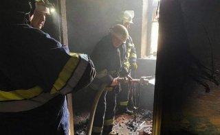 На Днепропетровщине горел дом - ФОТО