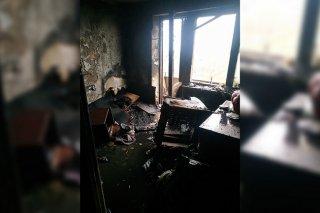 На Днепропетровщине на пожаре погибла женщина (фото, видео) - ФОТО