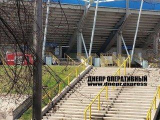 """На стадионе """"Днепр-Арена"""" неизвестные оставили взрывное устройство - ФОТО"""