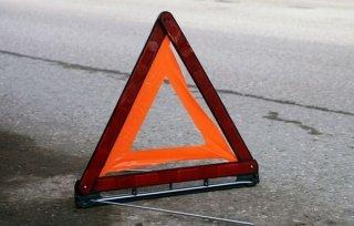 В Днепре Mazda сбила пешехода (видео) - ФОТО
