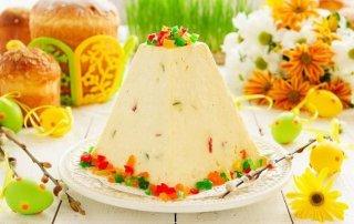 Творожная пасха: рецепт праздничного кулича - ФОТО