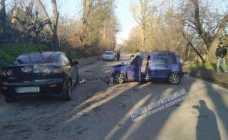 В Днепре произошло тройное ДТП, много пострадавших - ФОТО