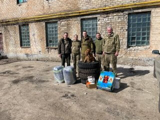 Мэр Каменского в очередной раз посетил зону ООС - ФОТО