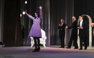 Маргарита Ненашева: «Наша вистава «SOLODEN`KA» - це своєрідний коктейль шоу і роздумів» - ФОТО