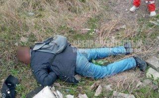 В Днепре на улице обнаружили труп мужчины (фото) - ФОТО