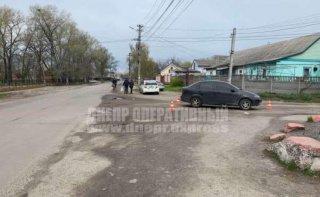 В Днепре Chevrolet Aveo сбил женщину - ФОТО