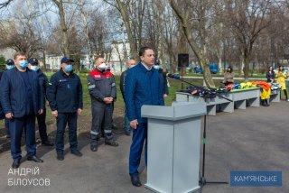 В Каменском поздравили работников пожарной охраны - ФОТО